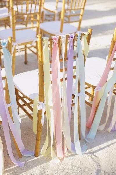 Bruiloft in pastelkleuren