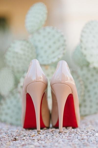 Pijnlijke voeten in trouwschoenen