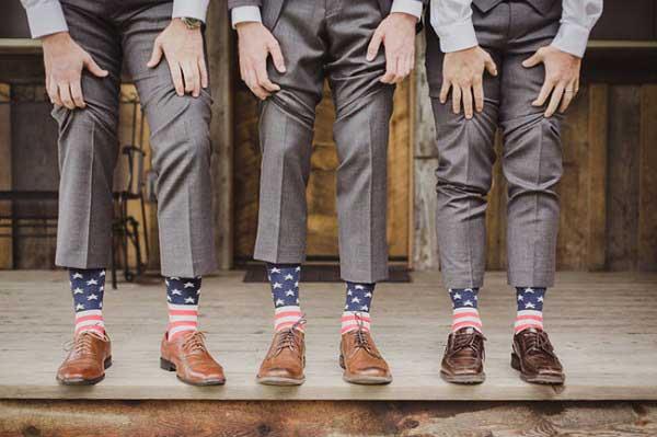 Amerikaanse bruiloft sokken