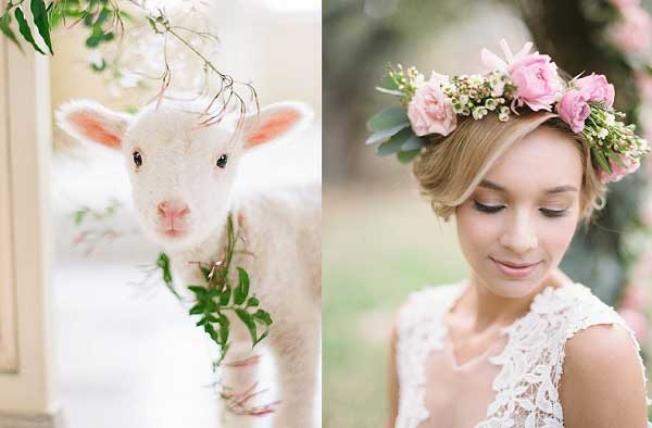 Lente bruiloft