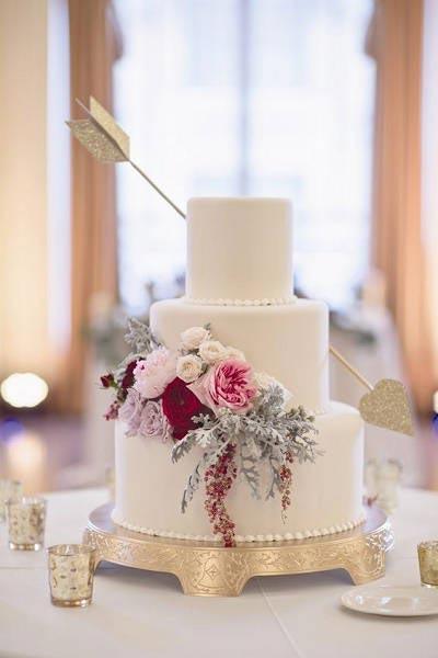 Valentijn bruidstaart cupido
