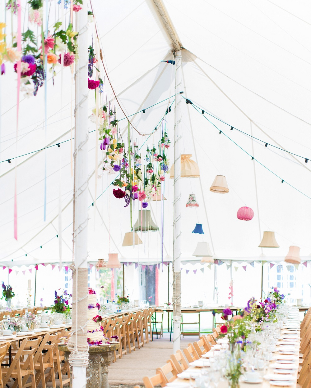 Festival bruiloft tent