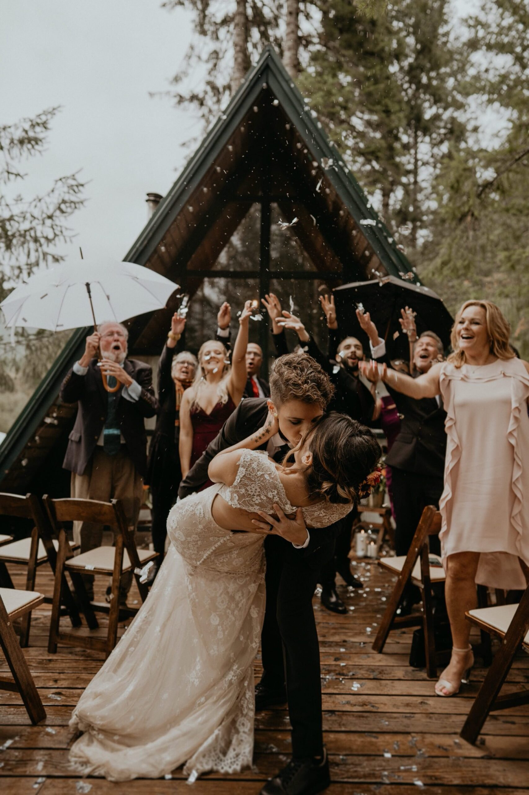 Ceremonie op een meerdaagse bruiloft