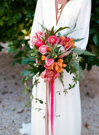 Tropical bruidsboeket