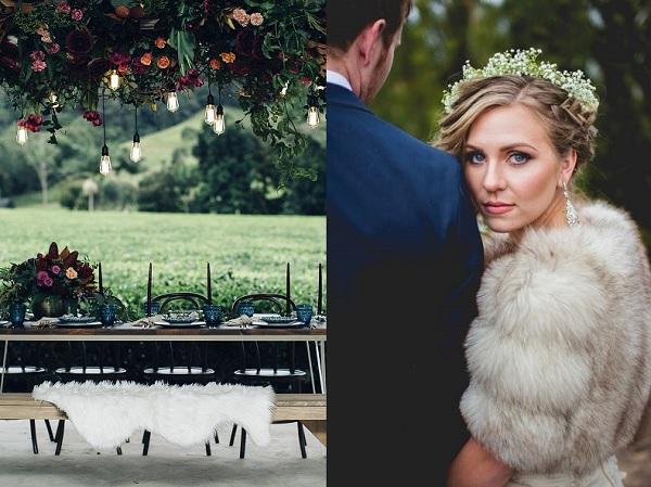 Bont op bruiloft