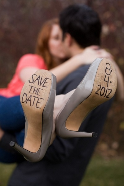 Save the date schoenen