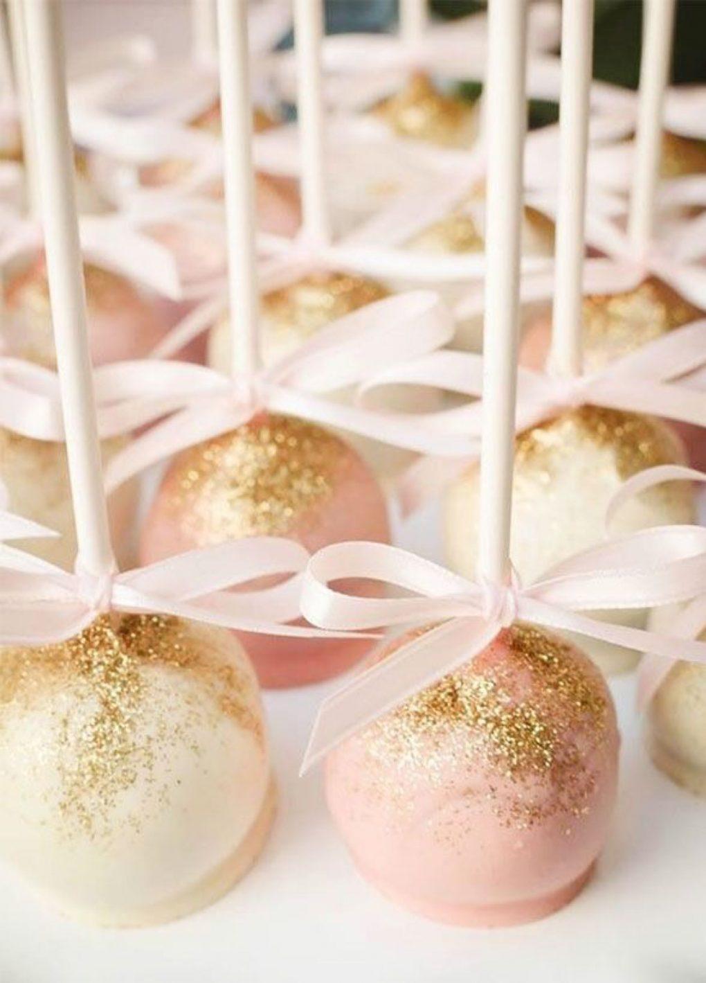 Cakepops als chocolade bedankje voor de bruiloft