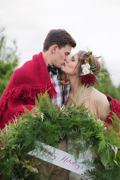 Bruiloft rond kerstdagen