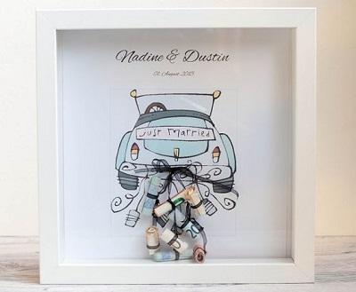 Pinterest foto geld geven op bruiloft