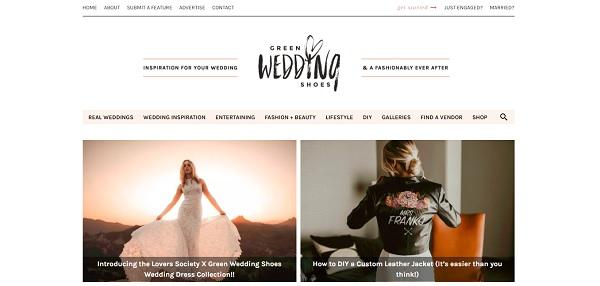 Amerikaanse Trouwblog Green Wedding Shoes