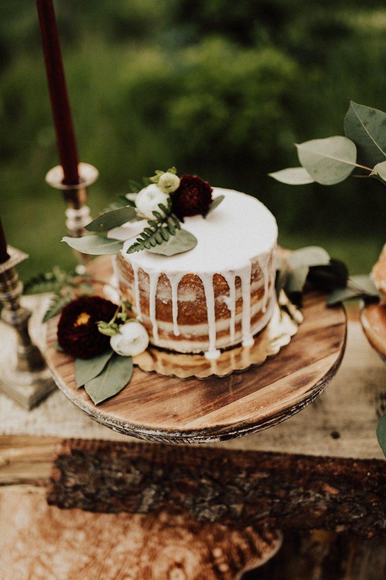 Dripping cake voor de bruiloft