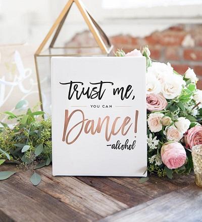 Grappige tekst trouwfeest