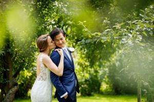 Dagindeling bruid en bruidegom