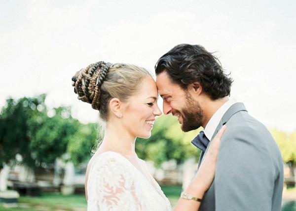 Bruidspaar vastgelegd door Raisa Zwart