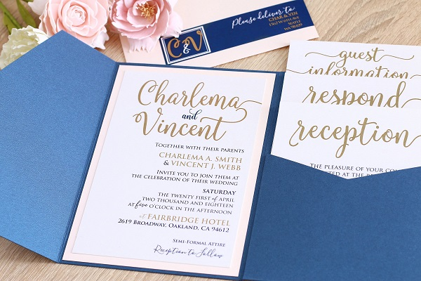 Huwelijk aankondigen met trouwkaart