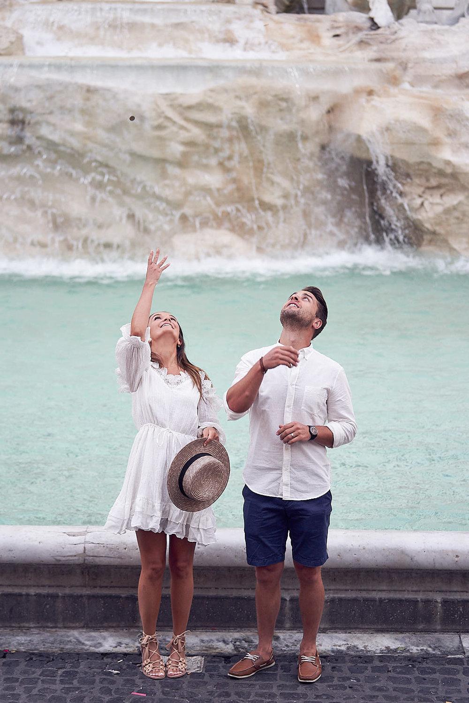 Huwelijksreis Rome