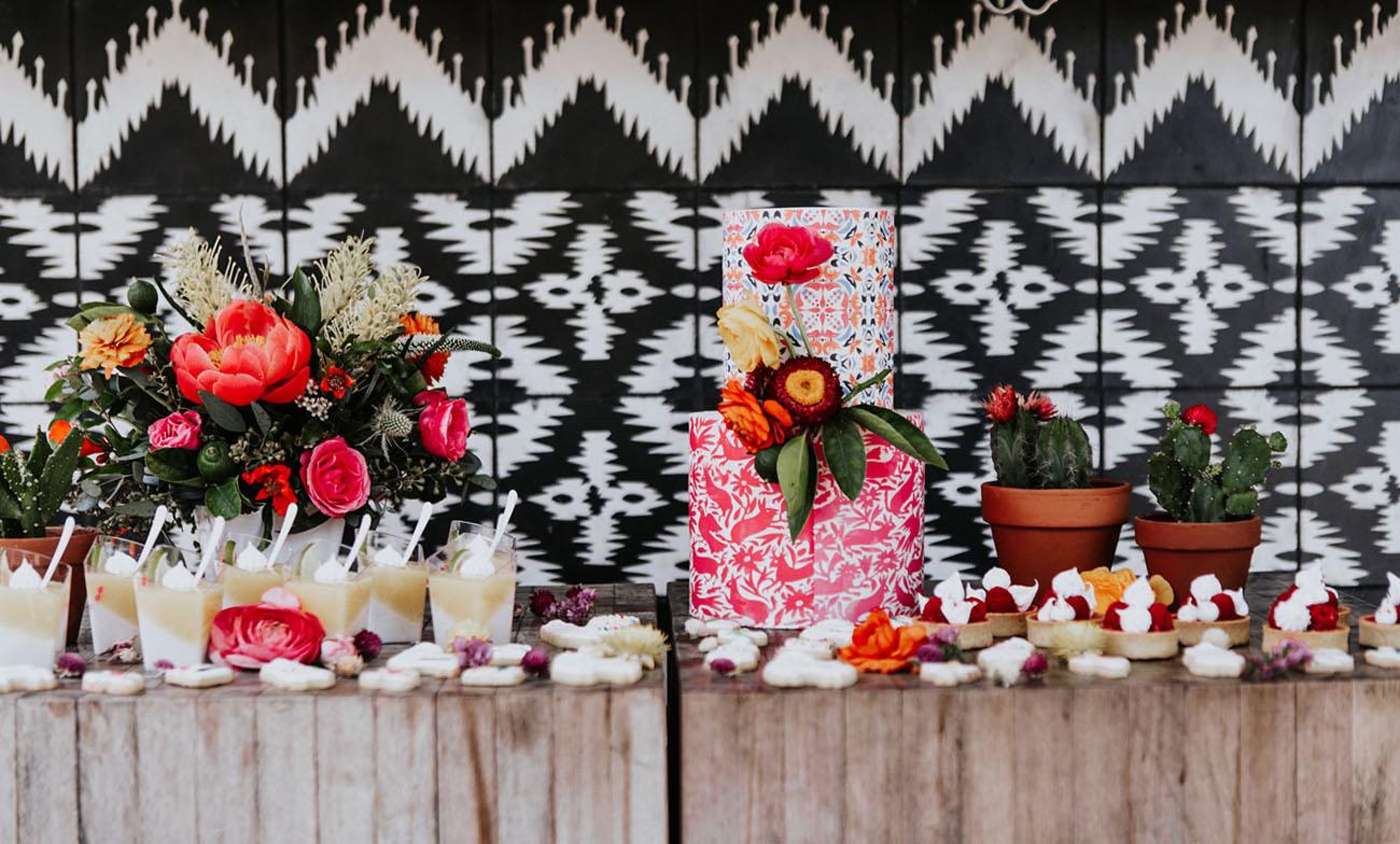Mexicaanse thema bruiloft