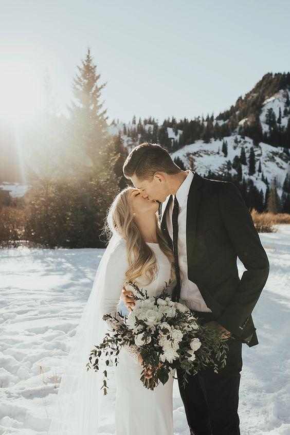 Goedkoop trouwen in de winter