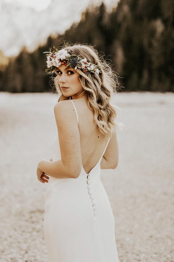 Bruid in bruidsjurk