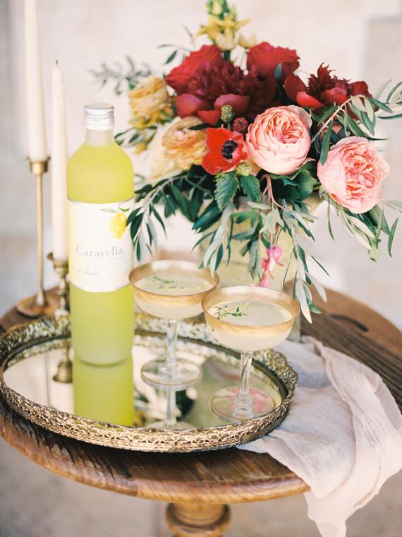 Limoncello op een bruiloft
