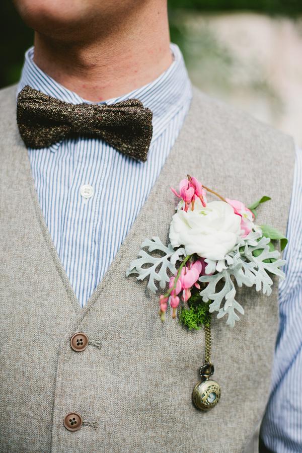 Vintage corsage ideeën