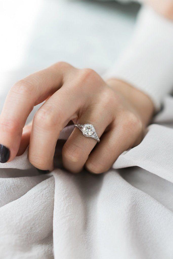 Ringmaat verlovingsring