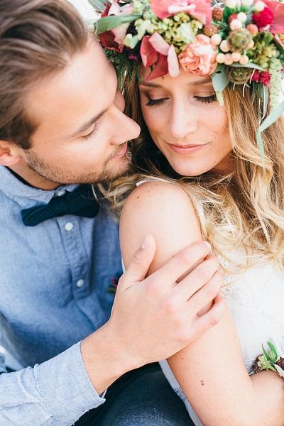 Bruidspaar dat gaat trouwen