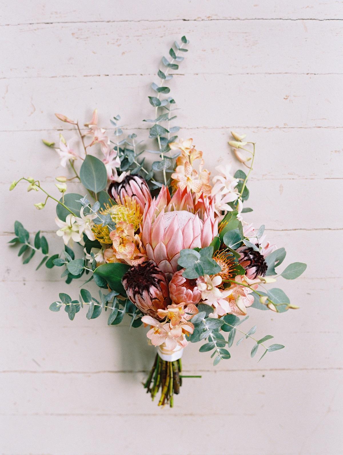 Protea bruidsboeket