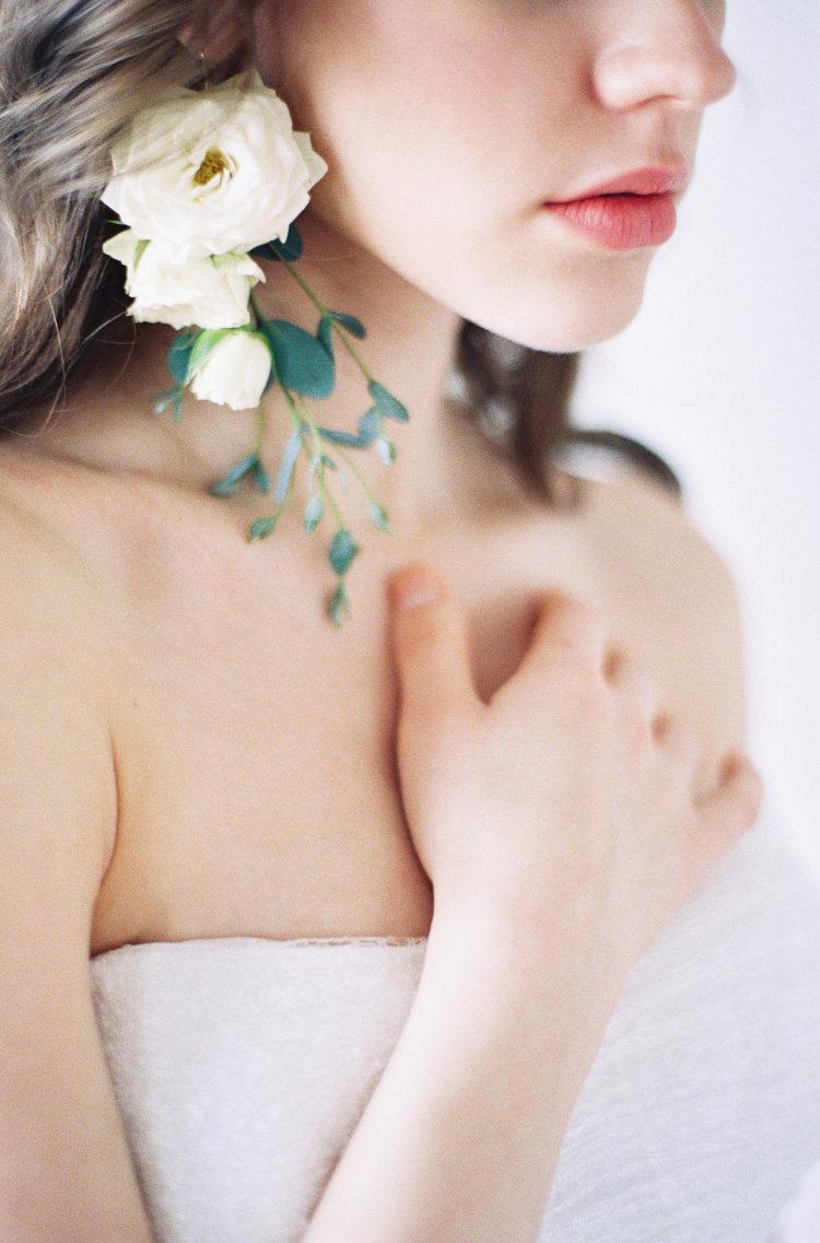 Bloemen als bruidsoorbellen