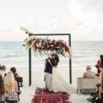 Bruiloft op het strand