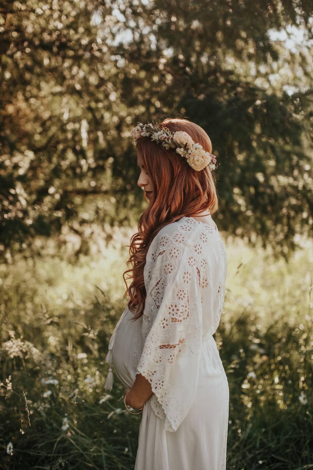 Zwanger en trouwen in trouwjurk