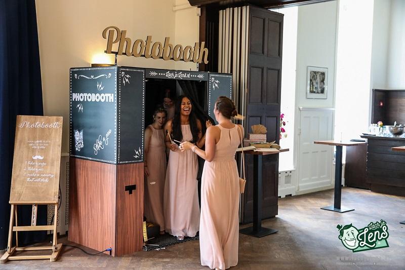 Photobooth op bruiloft