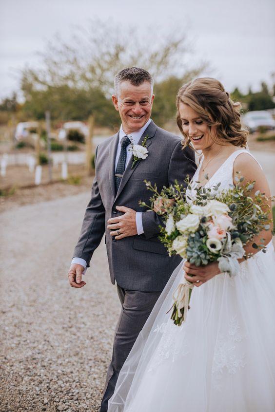 Vader en de bruid