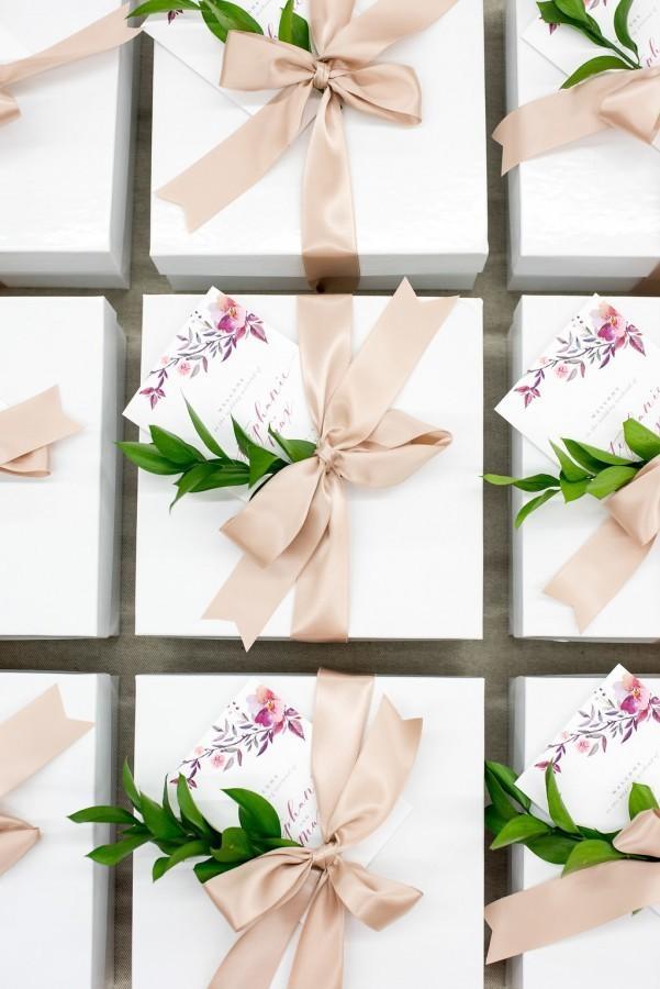 Goodiebags voor de bruiloft gasten