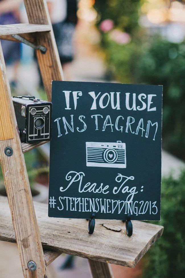 Instagram hashtag voor trouwfoto's