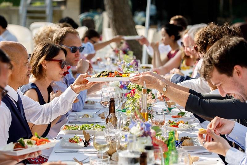 Tips voor het bruiloft diner