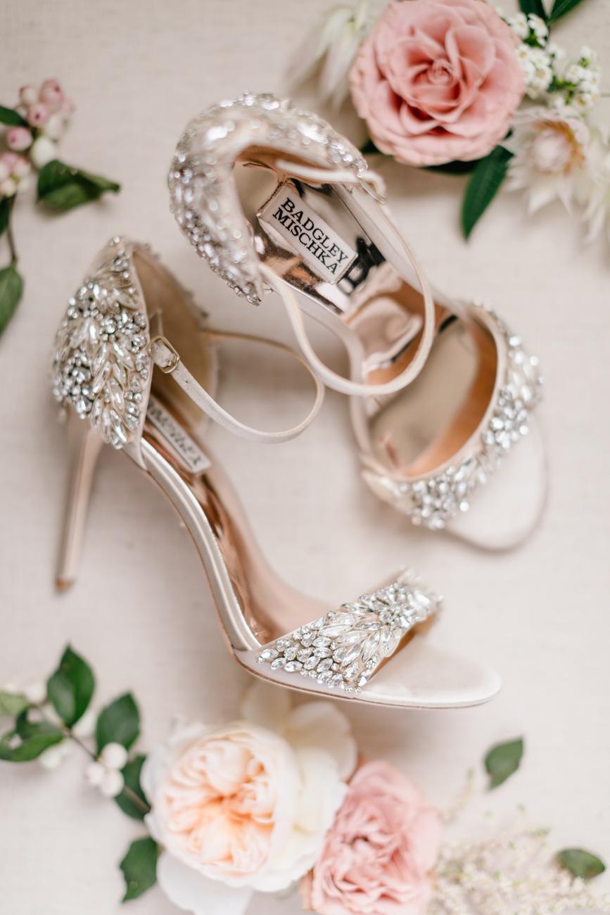 Hoge hakken voor bruiloft