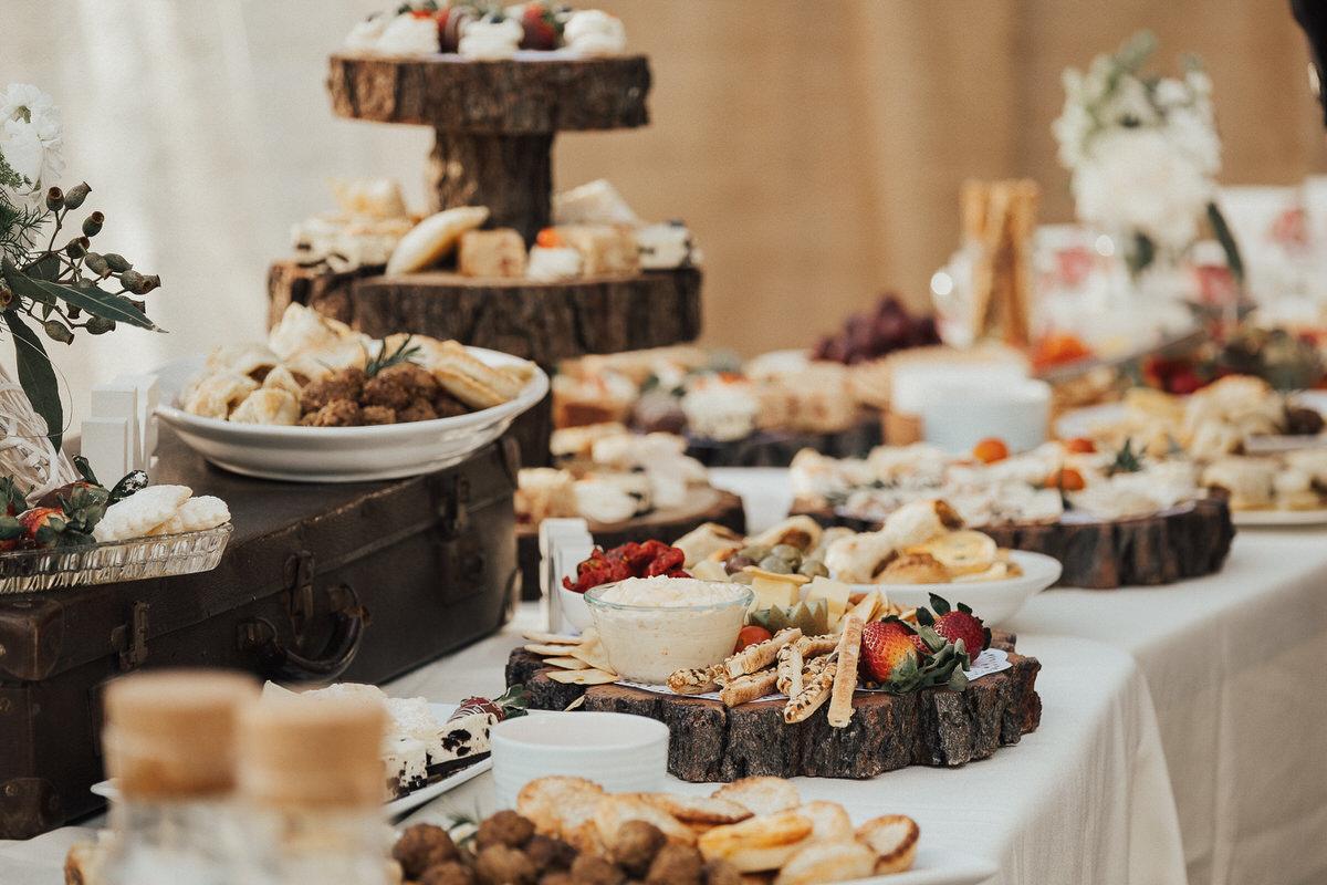 Bruiloft high tea