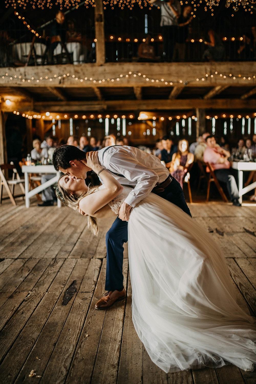 Eerste dans bruidspaar op de trouwfoto lijst