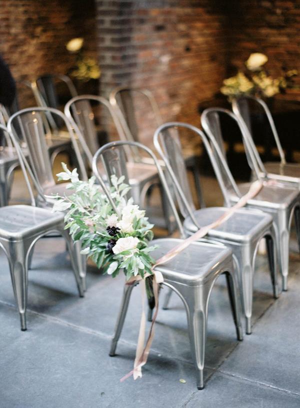 Industriële bruiloft decoratie
