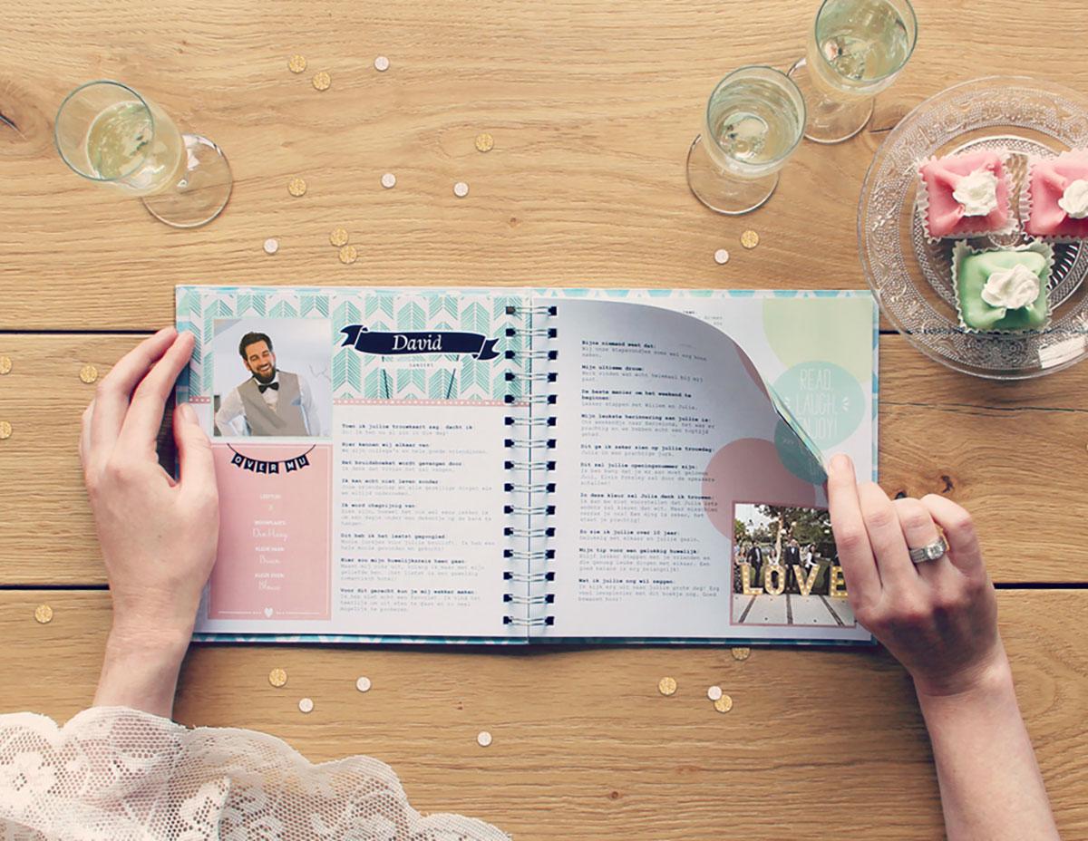 Vriendenboekje als huwelijkscadeau