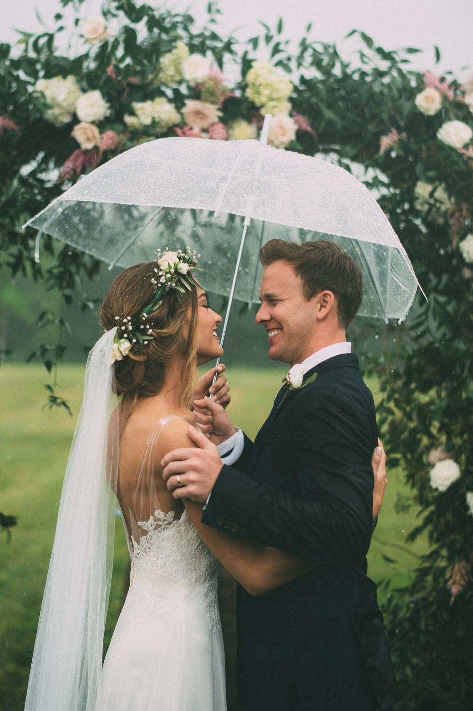 Bruiloft paraplu