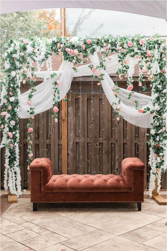 Decoratie voor het verlovingsfeest