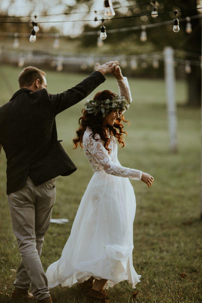 Sterrenbeeld van het bruidspaar