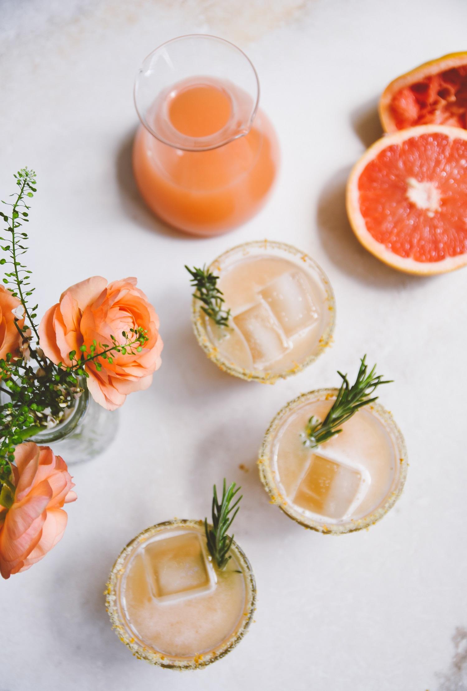 Cocktails met zoutrandje