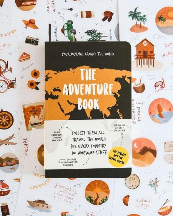 The Adventure Book als cadeau voor reisliefhebbers
