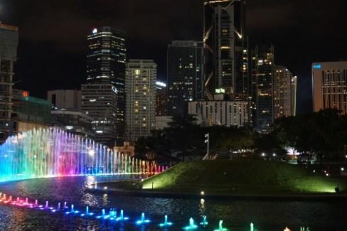 Watershow with Skyline
