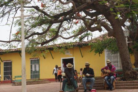 Straatmuziekanten Trinidad Cuba
