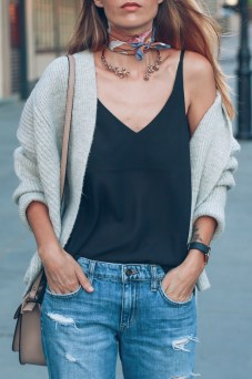ann-taylor-neck-scarf-choker-necklace-chunky-knit-sweater-prosecco-and-plaid