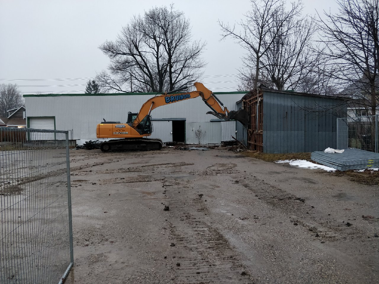 Demolition & Removal | Bruinsma Excavating Ltd